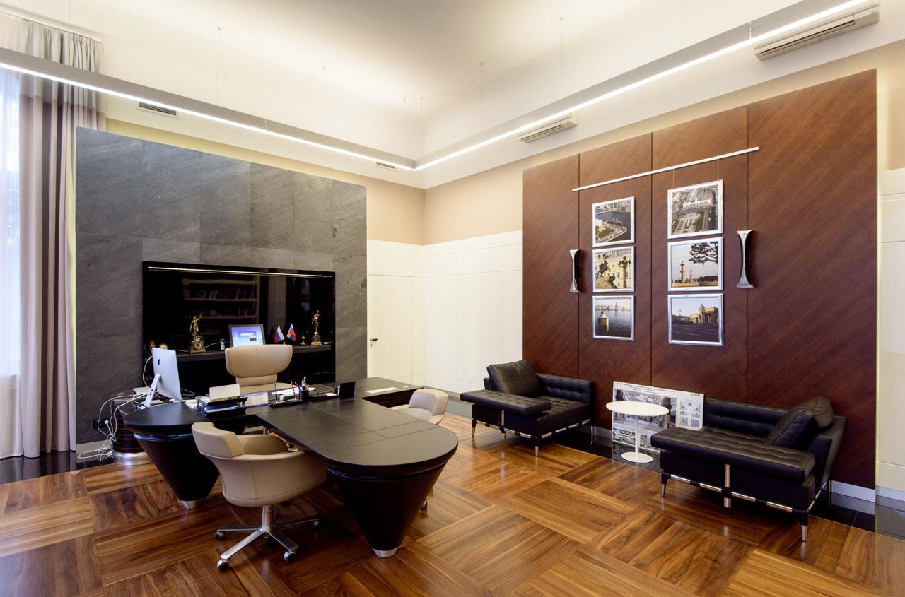 Дизайн кабинета в офисе фото